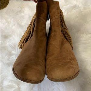 Sam Edelman Shoes - Sam Edelman Louie Fringe Booties